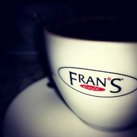 Photo taken at Fran's Café by Bruno F. on 1/9/2013