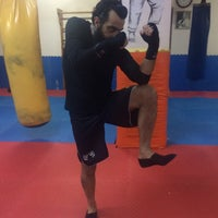Photo taken at FİGHT TiME AKADEMY  muay thai by Denis M. on 3/26/2017