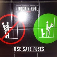 Снимок сделан в Rock'n'Roll Bar пользователем Alisa T. 4/17/2013