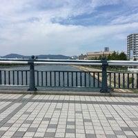 Photo taken at 南千田橋 by Казуаки Х. on 9/10/2017