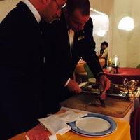 Photo taken at Cala di Volpe by Oleg P. on 9/28/2015