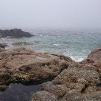 Photo taken at Praia de Fortiñón by Sanchez C. on 9/5/2015