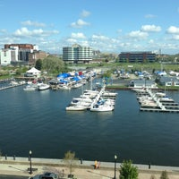 Photo taken at Sheraton Erie Bayfront Hotel by Gregory M. on 5/13/2013