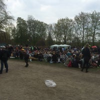 Photo taken at Stadsparken by Anders L. on 4/30/2015