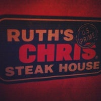 Photo taken at Ruth's Chris Steak House - Clayton, MO by Richard V. on 3/14/2013