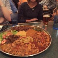 Photo taken at Axum Cafe by elisa on 11/18/2015