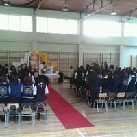 Photo taken at Liceo 7 Providencia by Danni V. on 11/8/2012