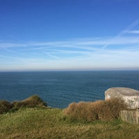 Photo taken at Cap Gris Nez by Игорь К. on 9/29/2015
