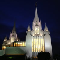 Photo taken at San Diego California Temple by Brent W. on 7/20/2013