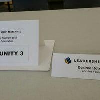 Photo taken at Leadership Memphis by Desiree R. on 7/14/2016