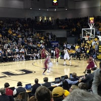 Photo taken at Stuart C. Siegel Center by Rasheeda M. on 1/18/2013