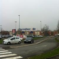 Photo taken at Carrefour by Deborah on 1/12/2013