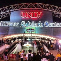 Photo taken at Thomas & Mack Center by Stella D. on 10/20/2012
