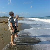Photo taken at Jensen Beach, FL by Michael M. on 2/11/2014