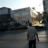 Photo taken at Halkbank by Ömer K. on 9/5/2015