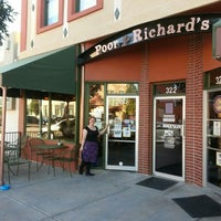 Photo taken at Poor Richard's Bookstore by Webster M. on 9/20/2015