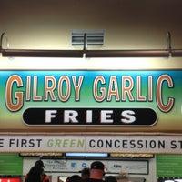 Photo taken at Gilroy Garlic Fries by Joey M. on 7/21/2013