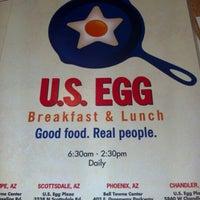 Photo taken at U.S. Egg Scottsdale by Joey M. on 2/2/2013