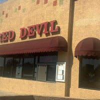 Photo taken at Red Devil Italian Restaurant & Pizzeria by Joey M. on 10/18/2012