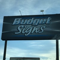 Photo taken at Budget Signs by Joey M. on 2/24/2018
