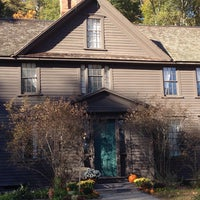 Photo taken at Louisa May Alcott's Orchard House by Joey M. on 10/23/2015