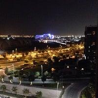 Photo taken at فُنْدُق رَادِيسُون بلُو (جزِيرَة يَاس) by Bu Rashed B. on 10/7/2014