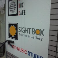 Photo taken at SIGHT BOX Studio & Gallery by hiroshi i. on 6/7/2014