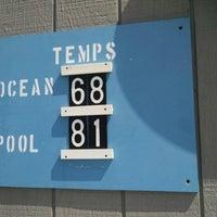Photo taken at Spouting Rock Beach Association by iein v. on 8/8/2014