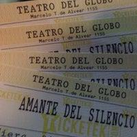 Photo taken at Teatro Del Globo by Deborah G. on 9/1/2016