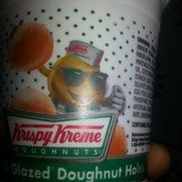 Photo taken at Krispy Kreme Doughnuts by sharon P. on 12/3/2012