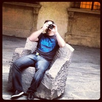 Photo taken at Palazzo d'Accursio - Palazzo Comunale by Mariano H. on 9/28/2012