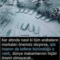Photo taken at Andızlı Dolmuş Durağı by SMH .. on 1/5/2017