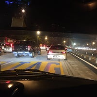 Photo taken at Duta Road Toll Plaza by Aqhwa S. on 4/28/2017