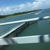 Photo taken at Figure 8 Island ICW by Ricky S. on 8/8/2016
