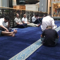 Photo taken at Mall of the Emirates Mosque by Ahmed A. on 6/14/2013