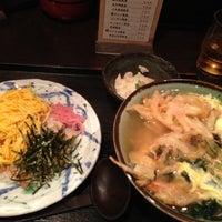 Photo taken at 大阪うどん 明日喜 by Shohei K. on 10/13/2012