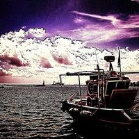 Photo taken at Port of Pythagoreio Harbor by Efi P. on 4/7/2013