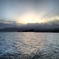 Photo taken at Port of Pythagoreio Harbor by Efi P. on 3/10/2013