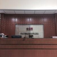 Photo taken at Pusat Pengajian Sains Kimia by Nurul I. on 1/18/2017