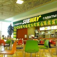 Photo taken at Subway by Erkan B. on 6/24/2013