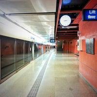 Photo taken at Delhi Aerocity Metro Station by Schmmuck on 9/28/2013