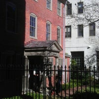 Photo taken at Longfellow House by Andrew B. on 10/24/2012