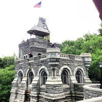 Photo taken at Belvedere Castle by Josh A. on 5/25/2013