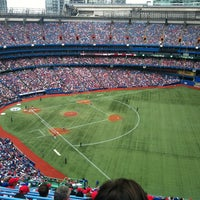 Photo taken at Rogers Centre by Jeff O. on 7/1/2013