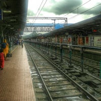 Photo taken at Palakkad Junction (Railway Station) by N. I. John on 7/30/2014