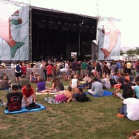 Photo prise au What Stage at Bonnaroo Music & Arts Festival par Michael M. le7/19/2014