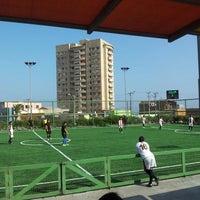 Photo taken at Complejo Deportivo Y Recreativo FCAB by Nino A. on 4/27/2013