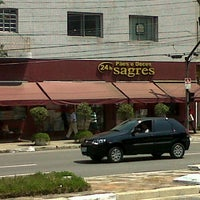 Photo taken at Pães e Doces Sagres by Bruh M. on 10/4/2012