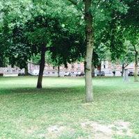 Photo taken at Moreelsepark by Olga L. on 7/12/2015