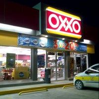 Photo taken at Oxxo Palafox by Jesus C. on 8/23/2013